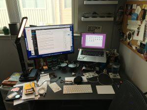 My Jarvis standing desk