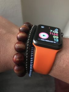 Apple Watch as activity tracker
