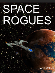 'Space Rogues' Book cover
