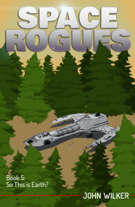 Space Rogues 5 Cover version 1