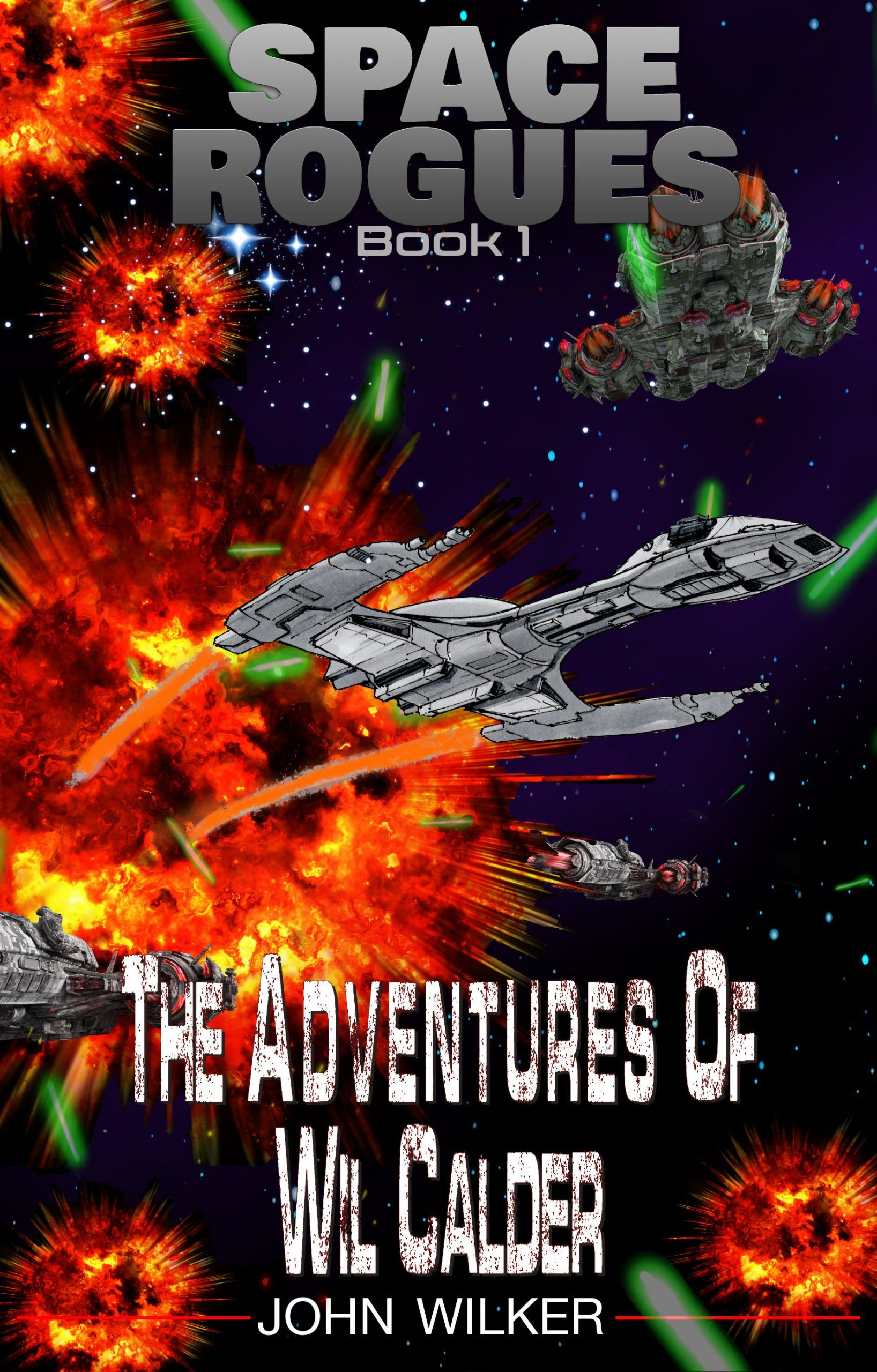 Book Cover: The Adventures of Wil Calder