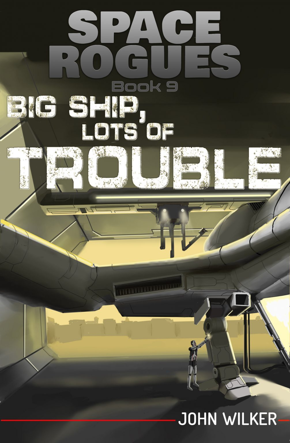 Book Cover: Big Ship, Lots of Trouble